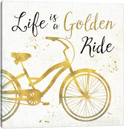 Golden Ride I Canvas Art Print