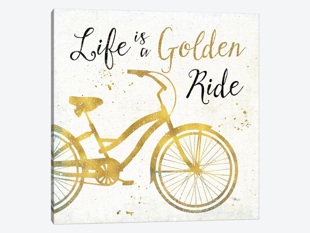 Golden Ride I by Pela Studio 1-piece Canvas Art