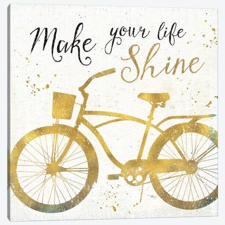 Golden Ride II Canvas Print #WAC3708} by Pela Studio Art Print