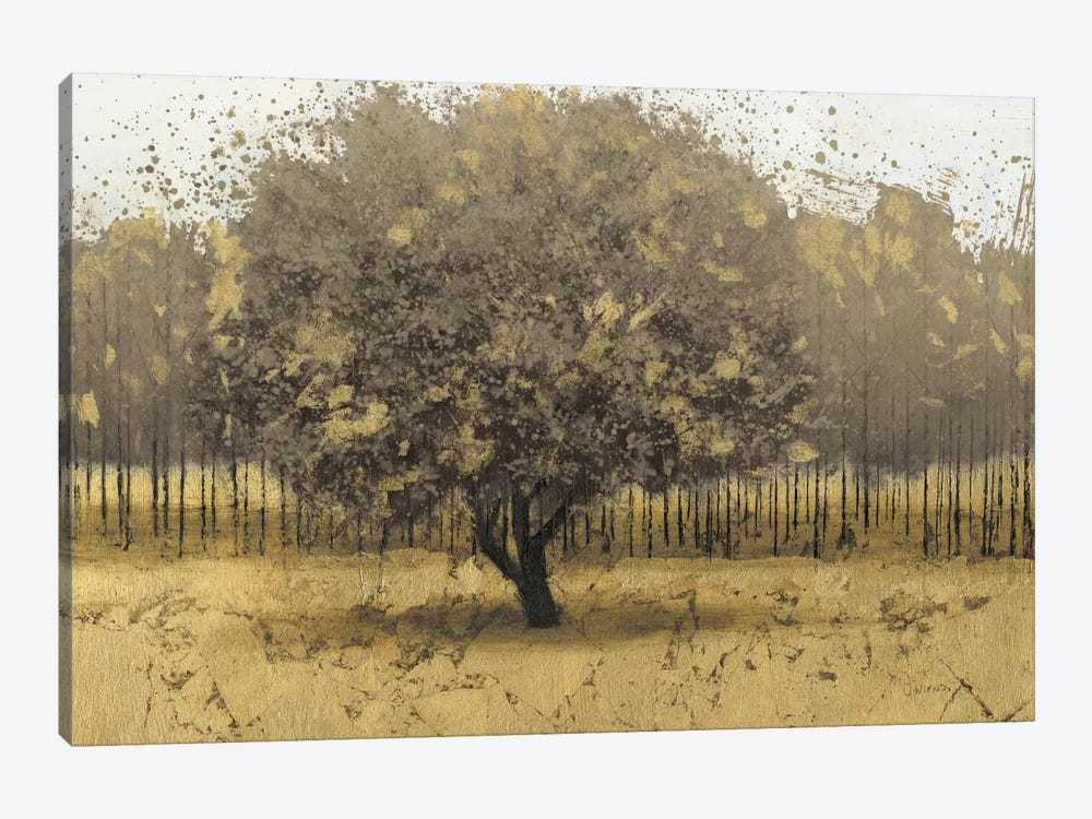Golden Trees I by James Wiens 1-piece Canvas Artwork