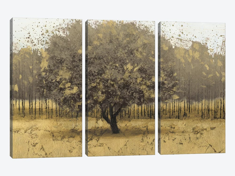 Golden Trees I by James Wiens 3-piece Canvas Artwork