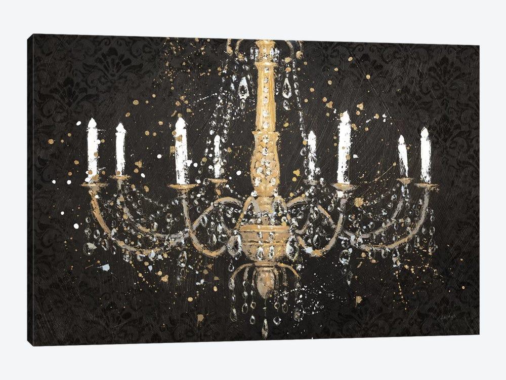 Grand chandelier black i canvas art by james wiens icanvas grand chandelier black i by james wiens 1 piece canvas art aloadofball Images