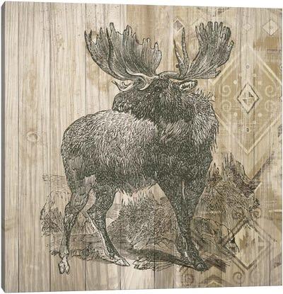 Natural History Lodge VIII Canvas Art Print