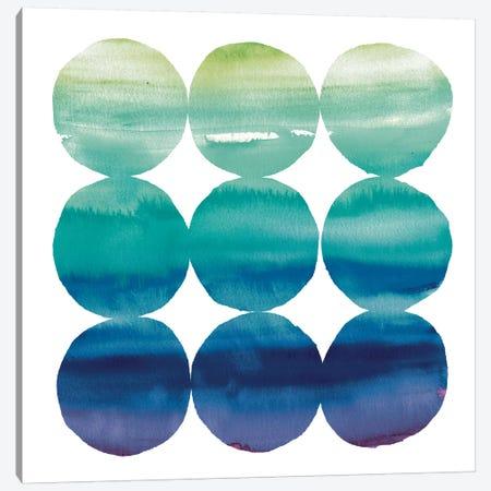 Summer Dots III Canvas Print #WAC3721} by Elyse DeNeige Art Print