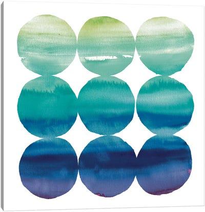 Summer Dots III Canvas Art Print