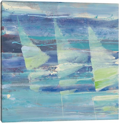 Summer Sail I Canvas Print #WAC3722