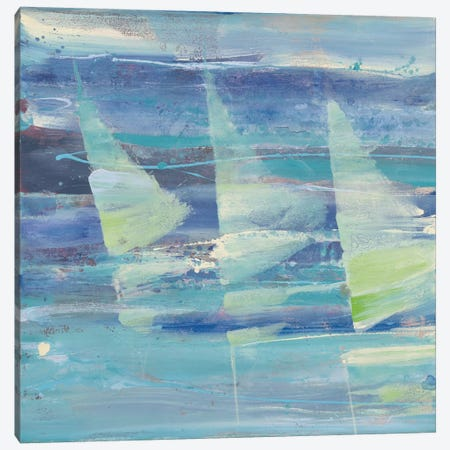 Summer Sail I 3-Piece Canvas #WAC3722} by Albena Hristova Art Print