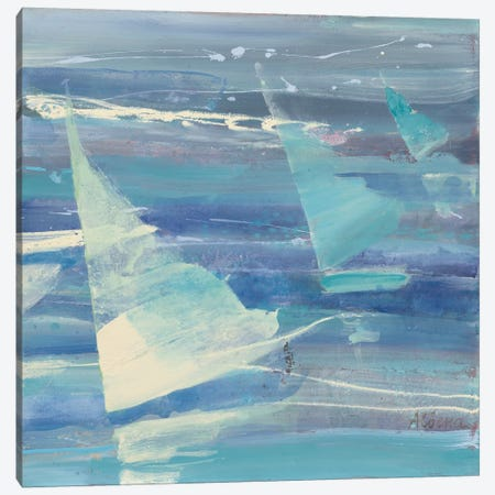 Summer Sail II 3-Piece Canvas #WAC3723} by Albena Hristova Canvas Art Print