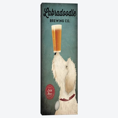 Labradoodle Brewing Co. Canvas Print #WAC3724} by Ryan Fowler Canvas Art