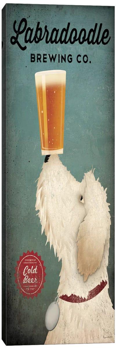 Labradoodle Brewing Co. Canvas Art Print
