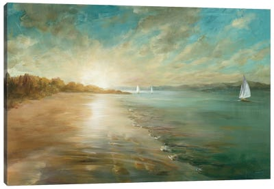 Coastal Glow Canvas Print #WAC3725