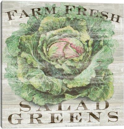 Farm Fresh Greens Canvas Art Print