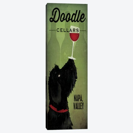 Doodle Cellars Canvas Print #WAC3744} by Ryan Fowler Canvas Wall Art