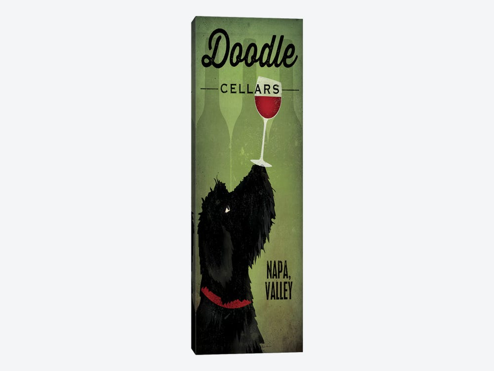 Doodle Cellars by Ryan Fowler 1-piece Canvas Print