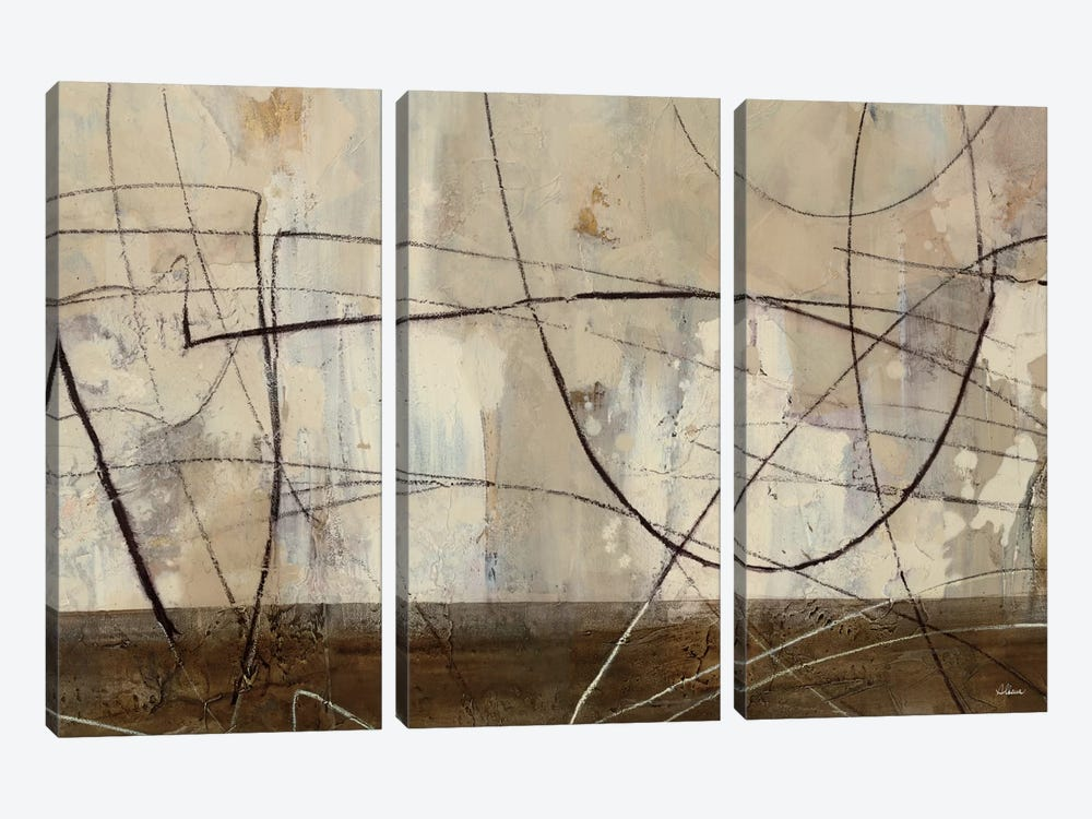 Across the Desert III by Albena Hristova 3-piece Canvas Art