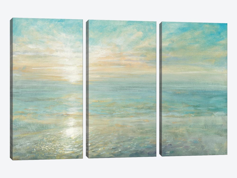 Sunrise by Danhui Nai 3-piece Canvas Art Print