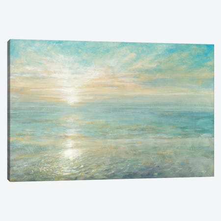 Sunrise 3-Piece Canvas #WAC3748} by Danhui Nai Art Print