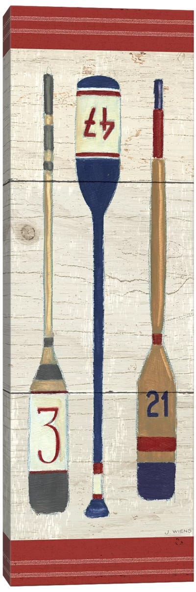 Nautique X Canvas Art Print