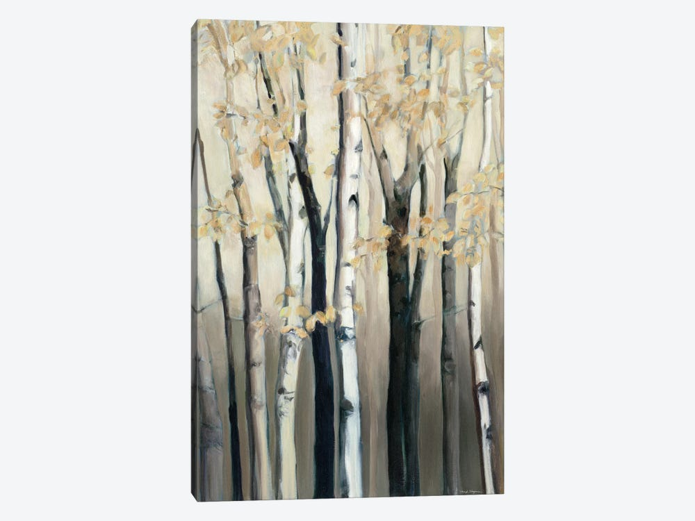 Golden Birch I by Marilyn Hageman 1-piece Canvas Print