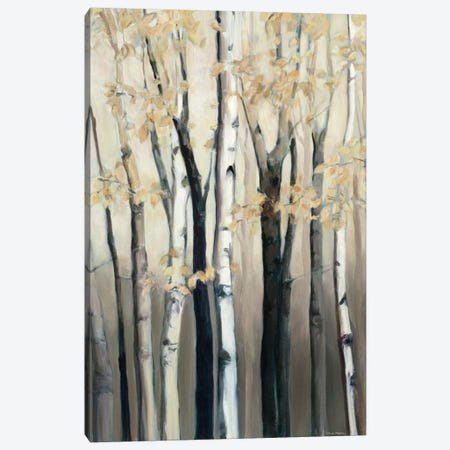 Golden Birch I Canvas Print #WAC3753} by Marilyn Hageman Canvas Artwork
