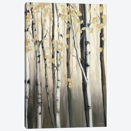 Golden Birch II Canvas Print #WAC3754} by Marilyn Hageman Art Print