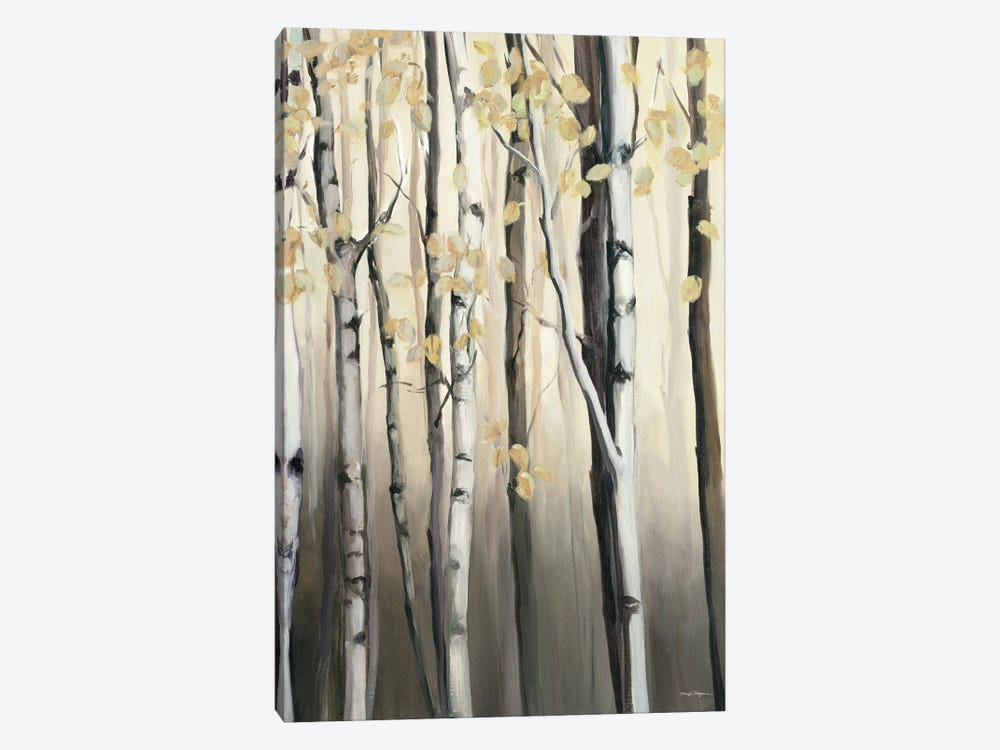 Golden Birch II by Marilyn Hageman 1-piece Canvas Art