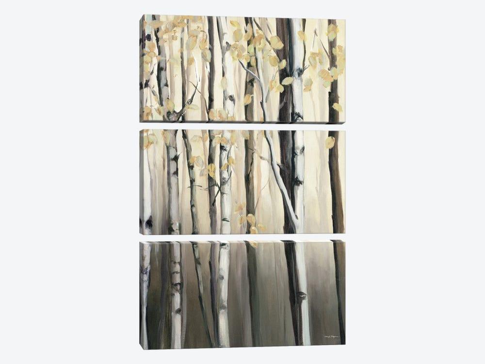 Golden Birch II by Marilyn Hageman 3-piece Canvas Artwork