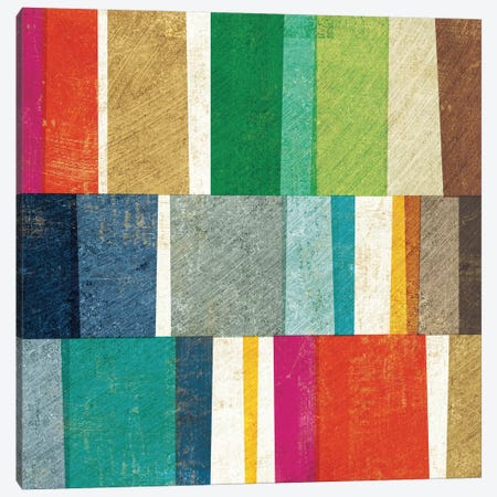 Colorful Abstract Canvas Print #WAC3755} by Michael Mullan Canvas Print