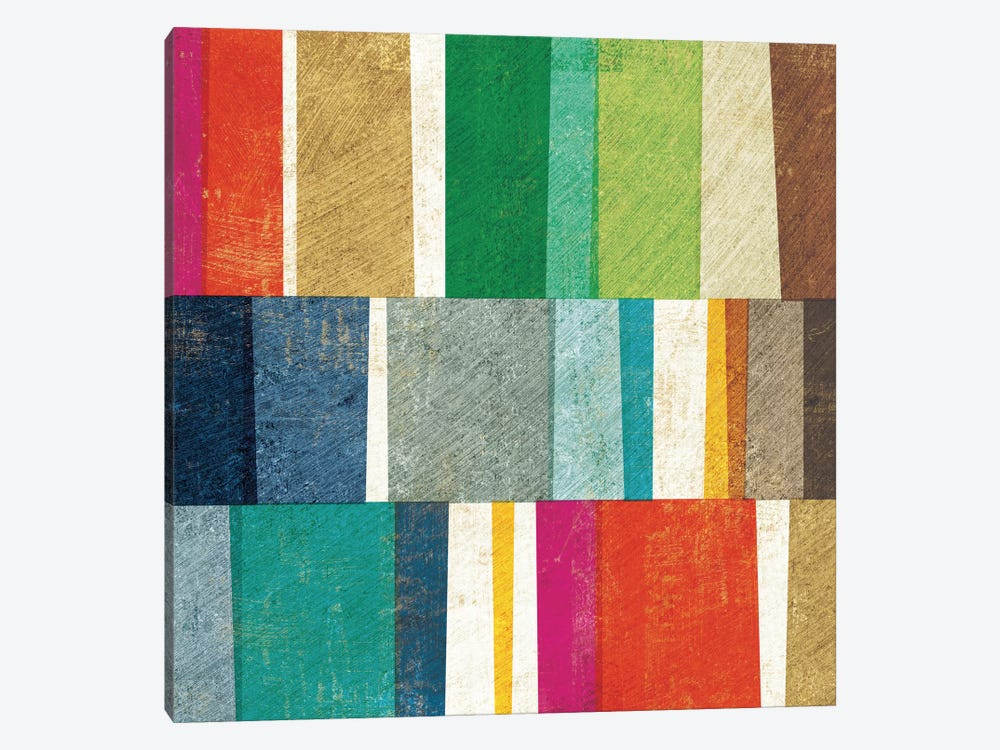Colorful Abstract by Michael Mullan 1-piece Art Print