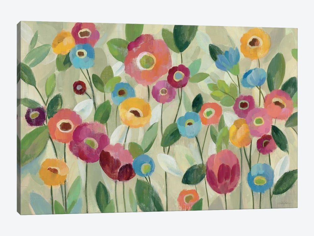 Fairy Tale Flowers V by Silvia Vassileva 1-piece Canvas Art Print