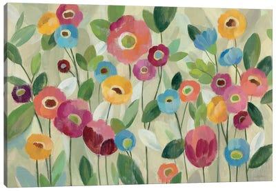 Fairy Tale Flowers V Canvas Art Print