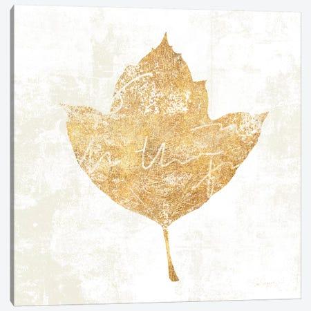 Bronzed Leaf I Canvas Print #WAC3759} by Sue Schlabach Canvas Art