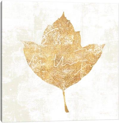 Bronzed Leaf I Canvas Art Print