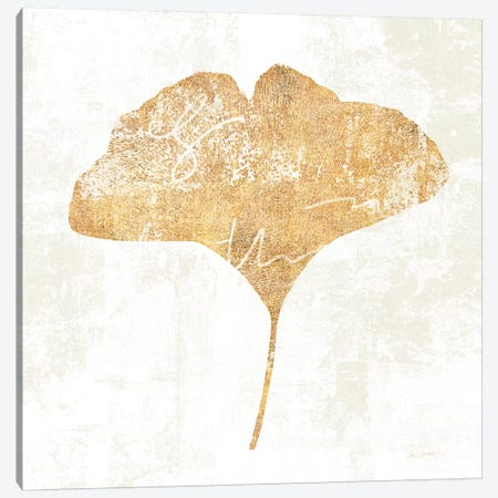 Bronzed Leaf III Canvas Print #WAC3761} by Sue Schlabach Art Print