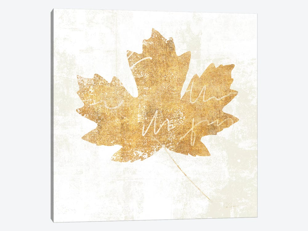 Bronzed Leaf IV by Sue Schlabach 1-piece Art Print
