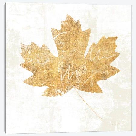 Bronzed Leaf IV Canvas Print #WAC3762} by Sue Schlabach Canvas Art Print