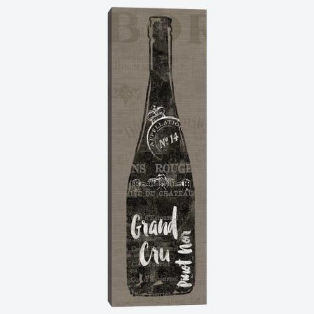 Linen Wine I Canvas Print #WAC3763} by Sue Schlabach Art Print