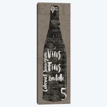 Linen Wine II Canvas Print #WAC3764} by Sue Schlabach Canvas Art