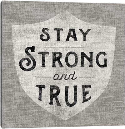 Stay Strong Canvas Art Print
