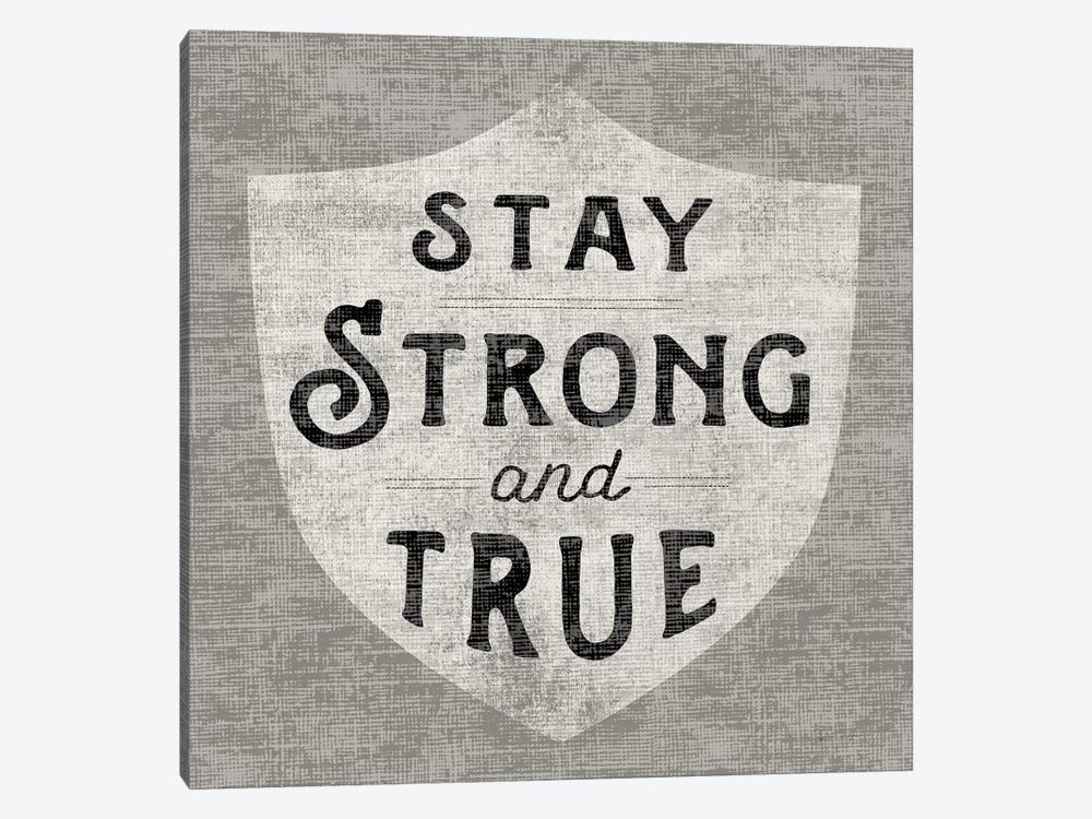 Stay Strong by Sue Schlabach 1-piece Canvas Wall Art
