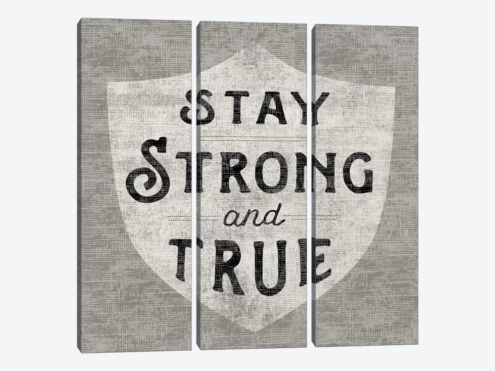 Stay Strong by Sue Schlabach 3-piece Canvas Art