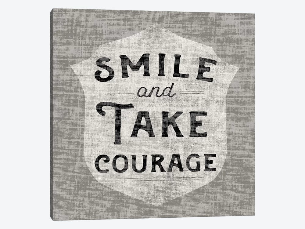Take Courage 1-piece Canvas Art Print