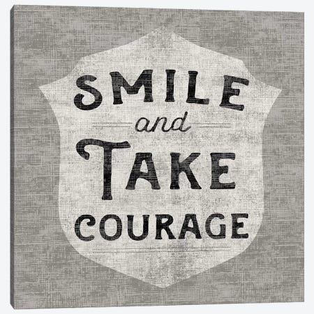 Take Courage Canvas Print #WAC3766} by Sue Schlabach Canvas Wall Art