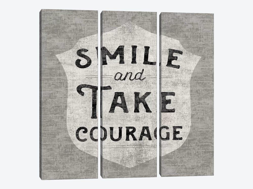 Take Courage by Sue Schlabach 3-piece Art Print
