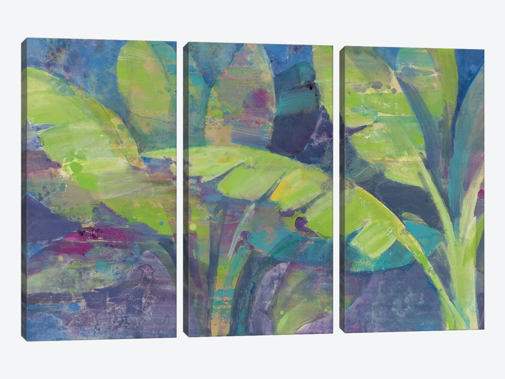 Bermuda Palms by Albena Hristova 3-piece Canvas Wall Art