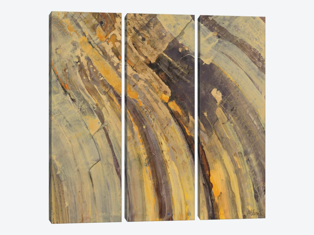 Gold I 3-piece Canvas Wall Art