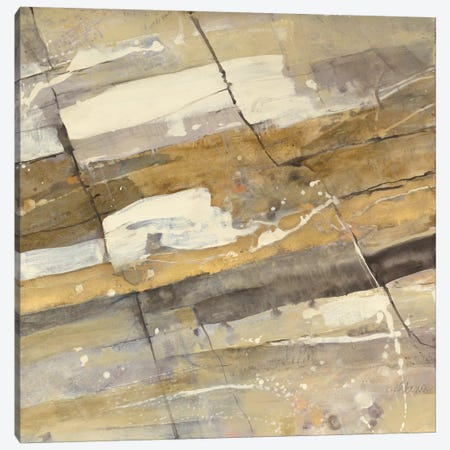 Gold Streak Canvas Print #WAC3779} by Albena Hristova Canvas Art