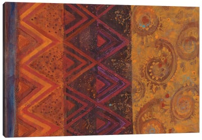 Paisley Mix Canvas Print #WAC3784