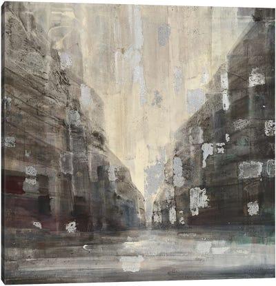 Silver City Canvas Art Print