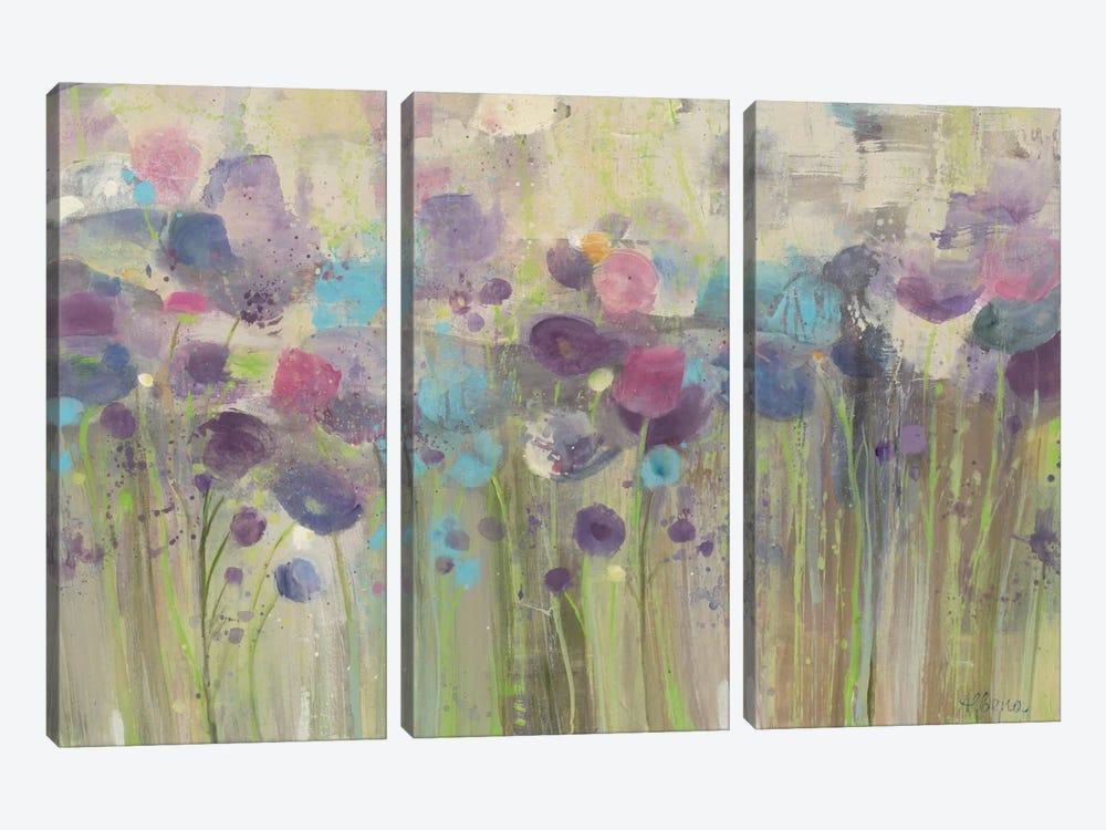 Spring Beauty by Albena Hristova 3-piece Canvas Artwork